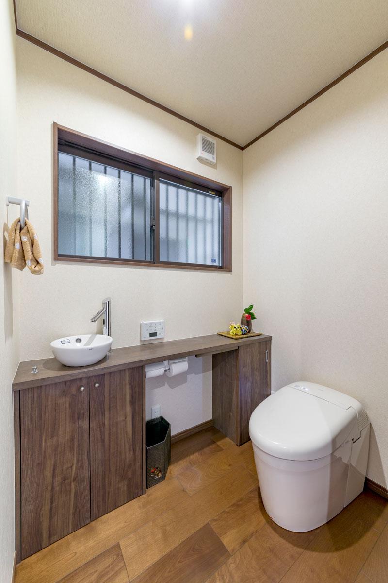 広島市❘お掃除ラクラク&将来も安心なトイレ