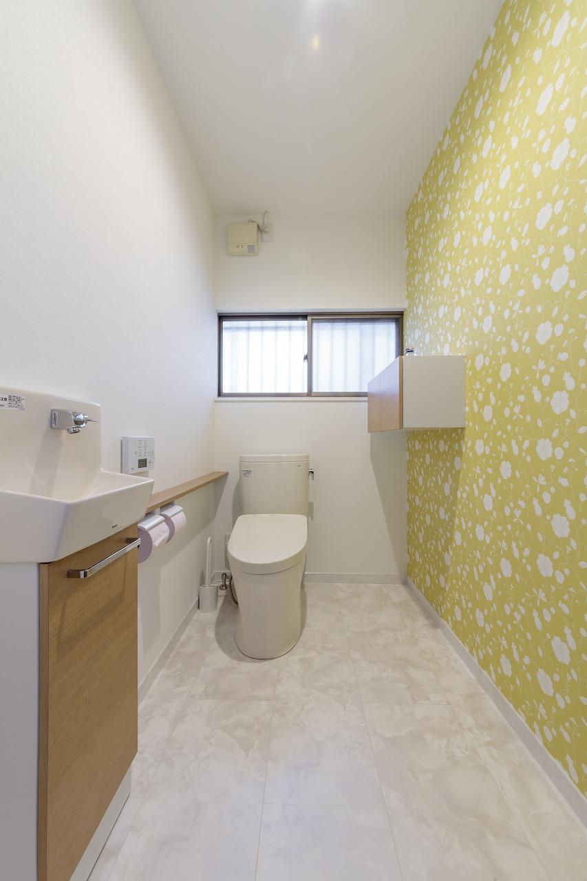 廿日市市|将来を見据えた広いトイレ