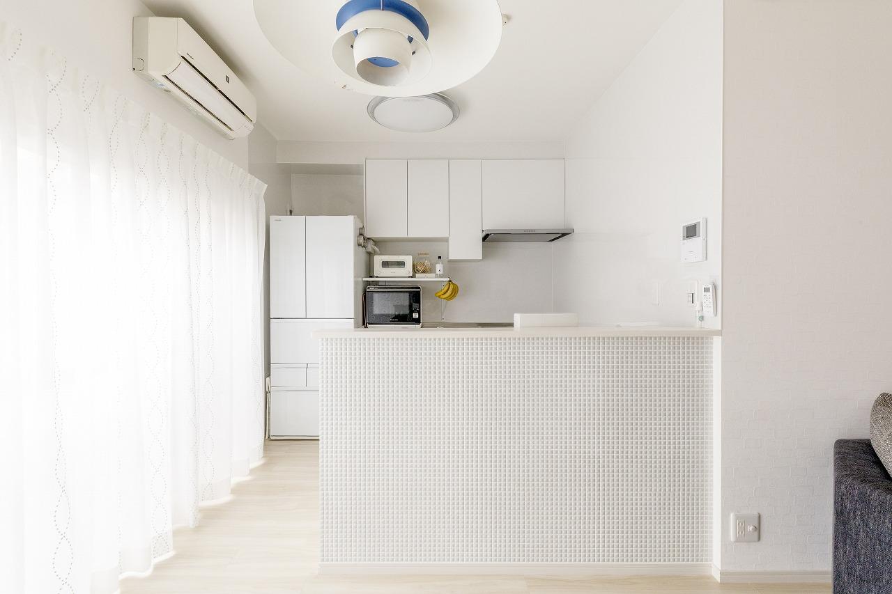 広島市|効率の良い収納にこだわったキッチン