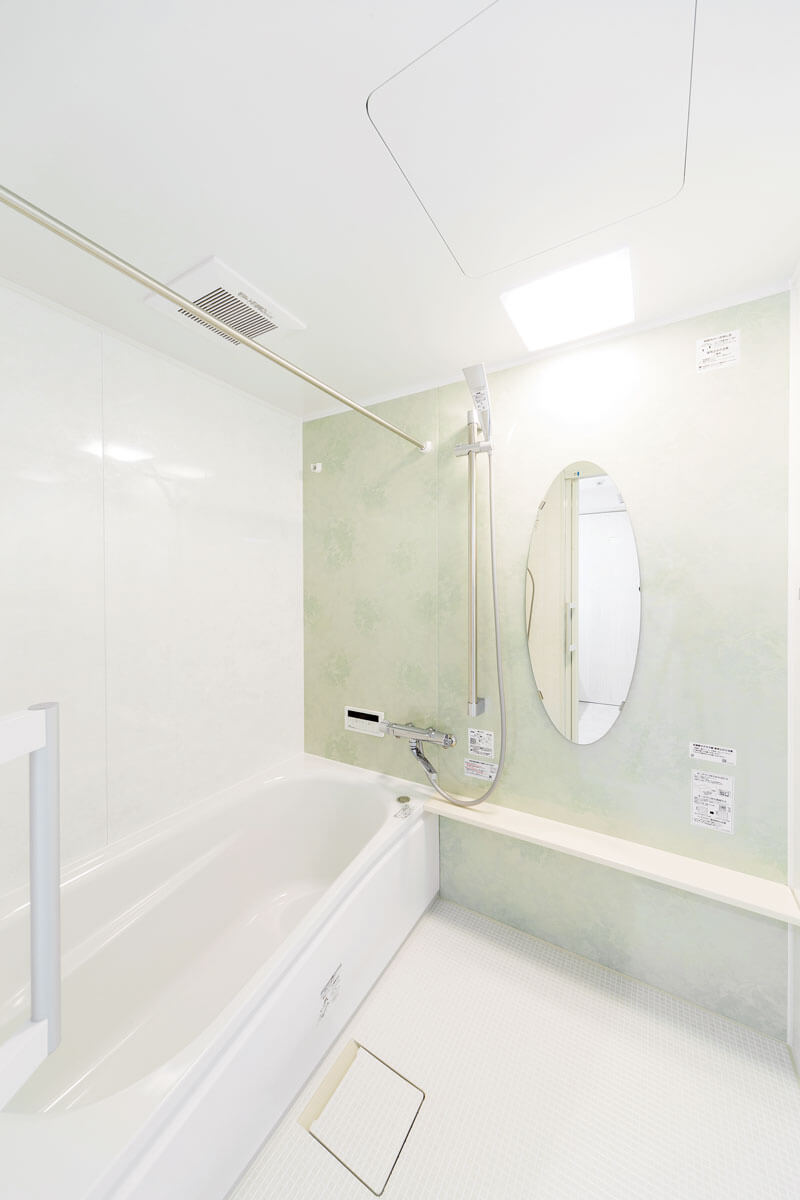 以前より手入れが簡単になり浴槽も一回り大きく。