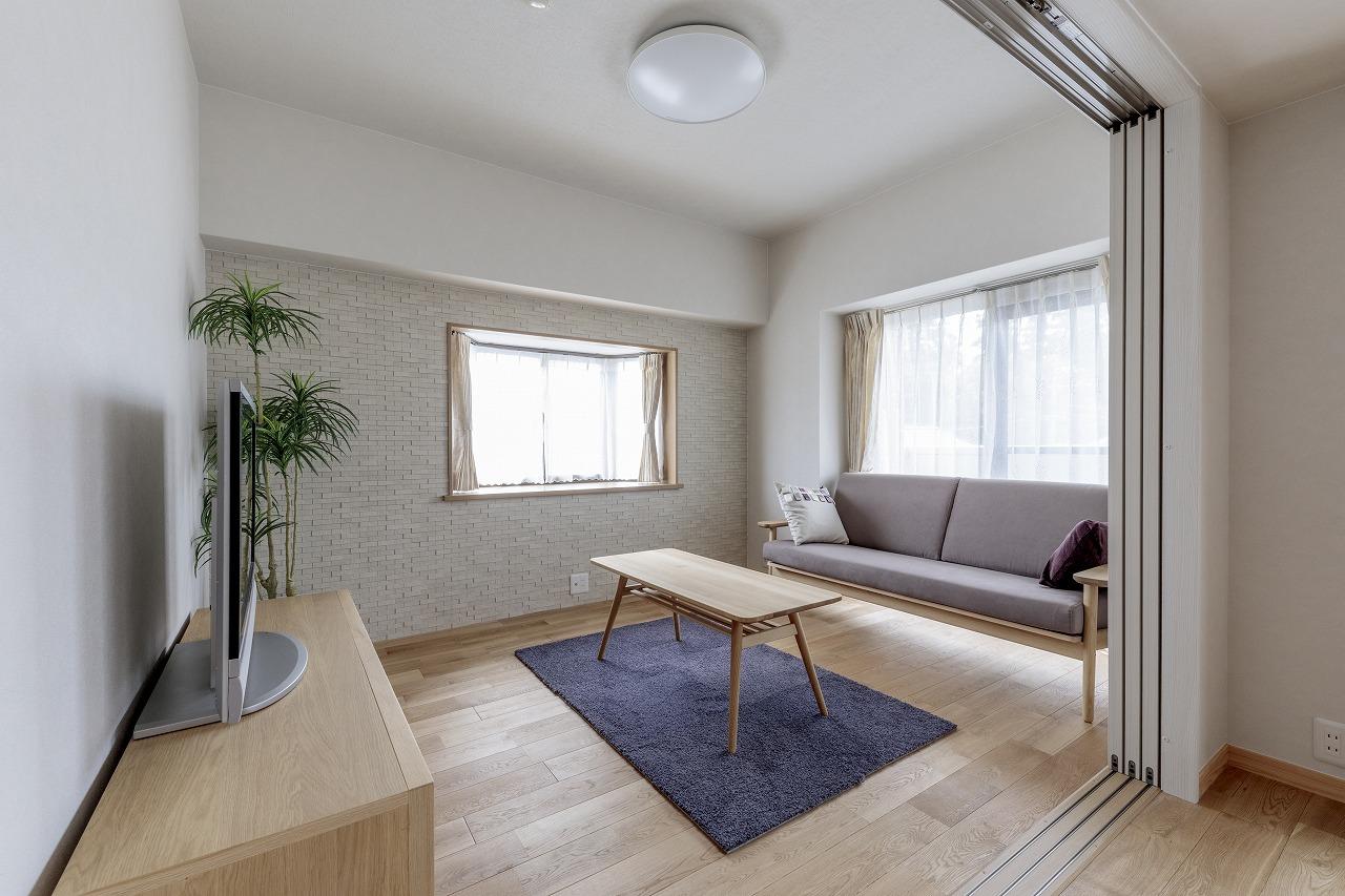 広島市|マンションの和室からリビングへ