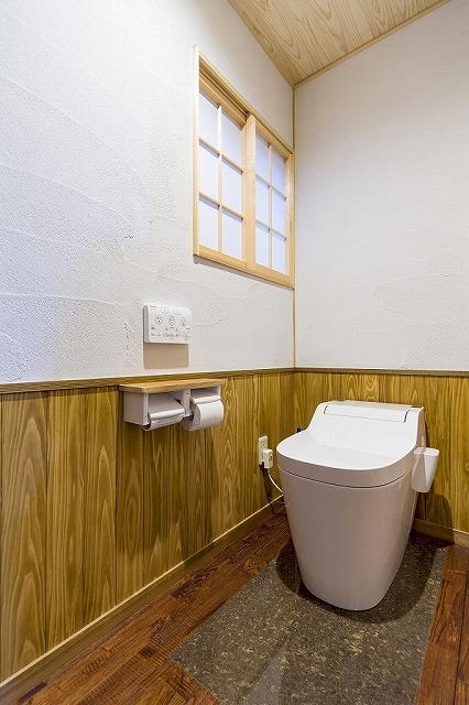 世羅郡|自然素材の古民家トイレ