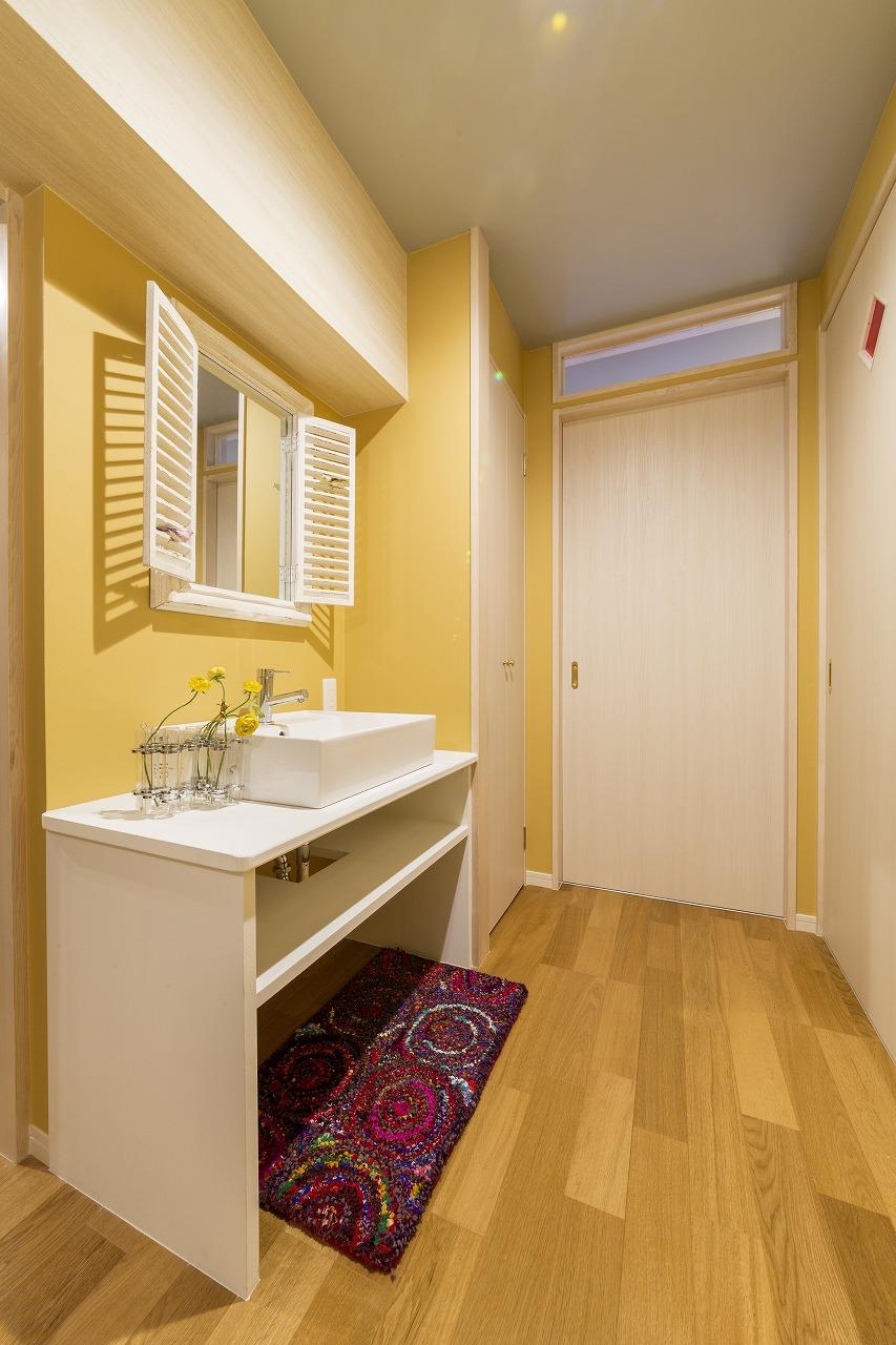 広島市|脱衣室と洗面室を分ける提案