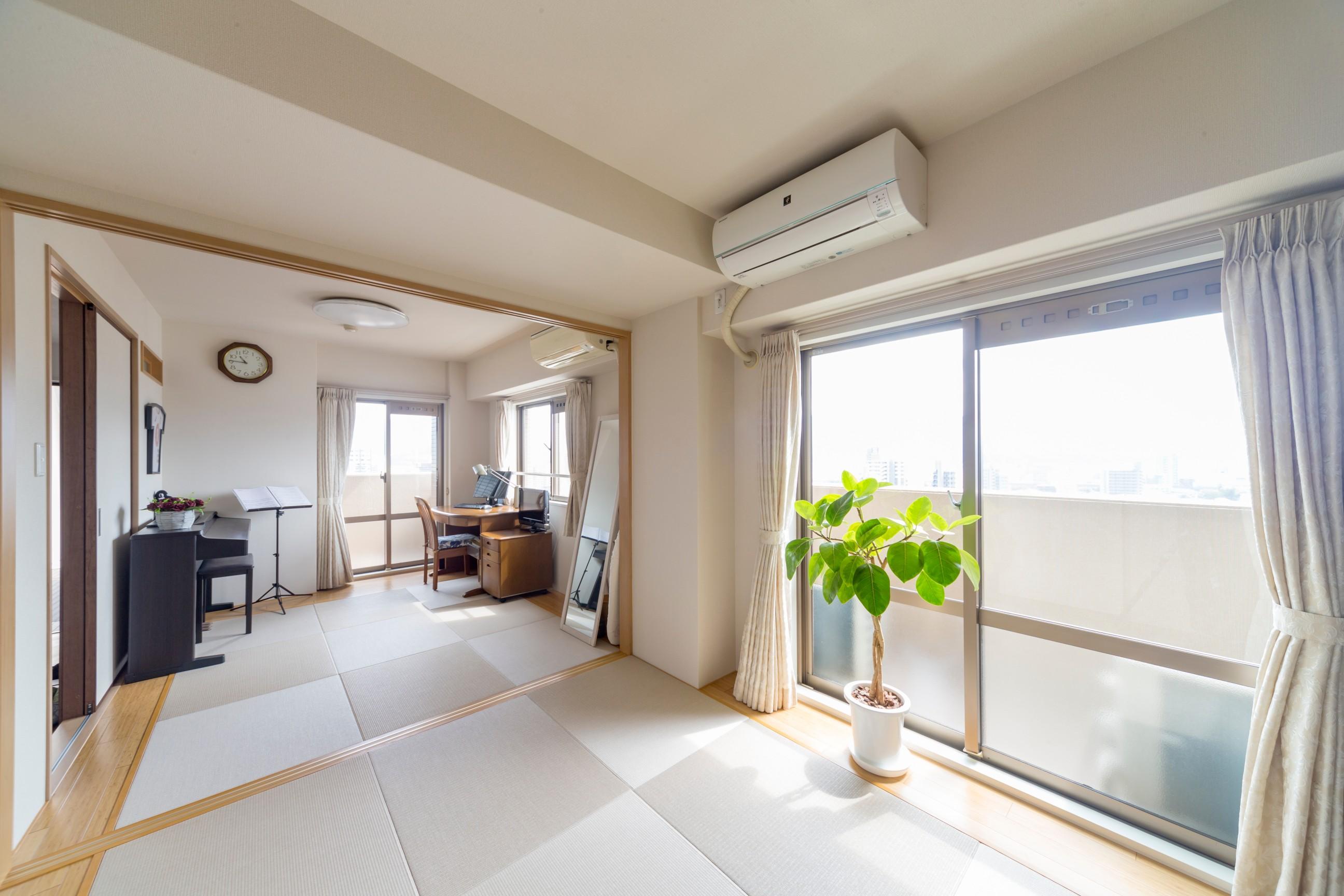 広島市 マンション 洋室を和室に変えるリフォーム例