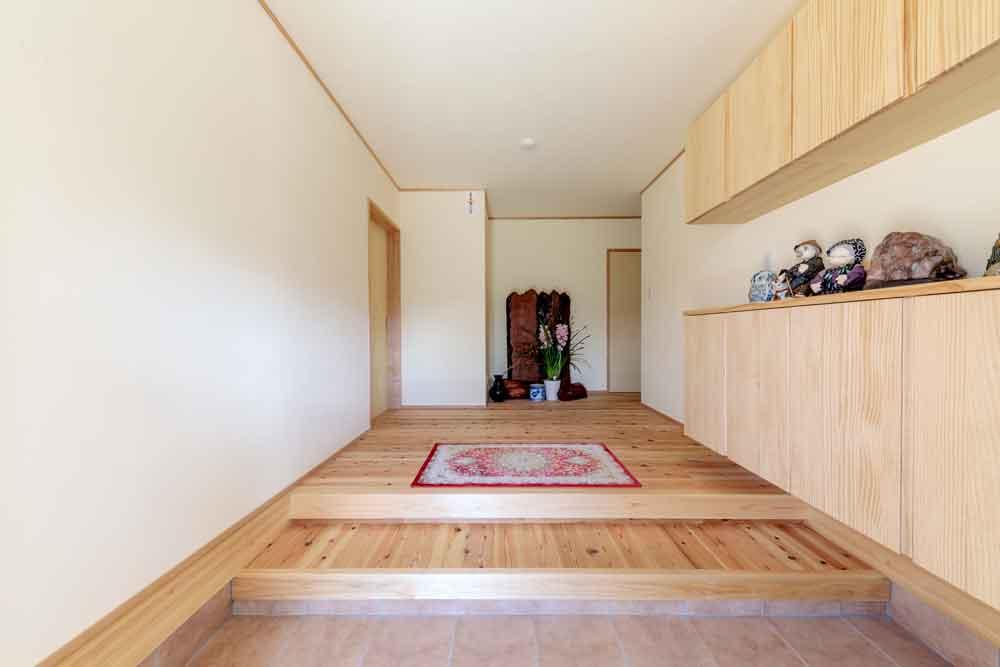 東広島市|美しい和風の玄関