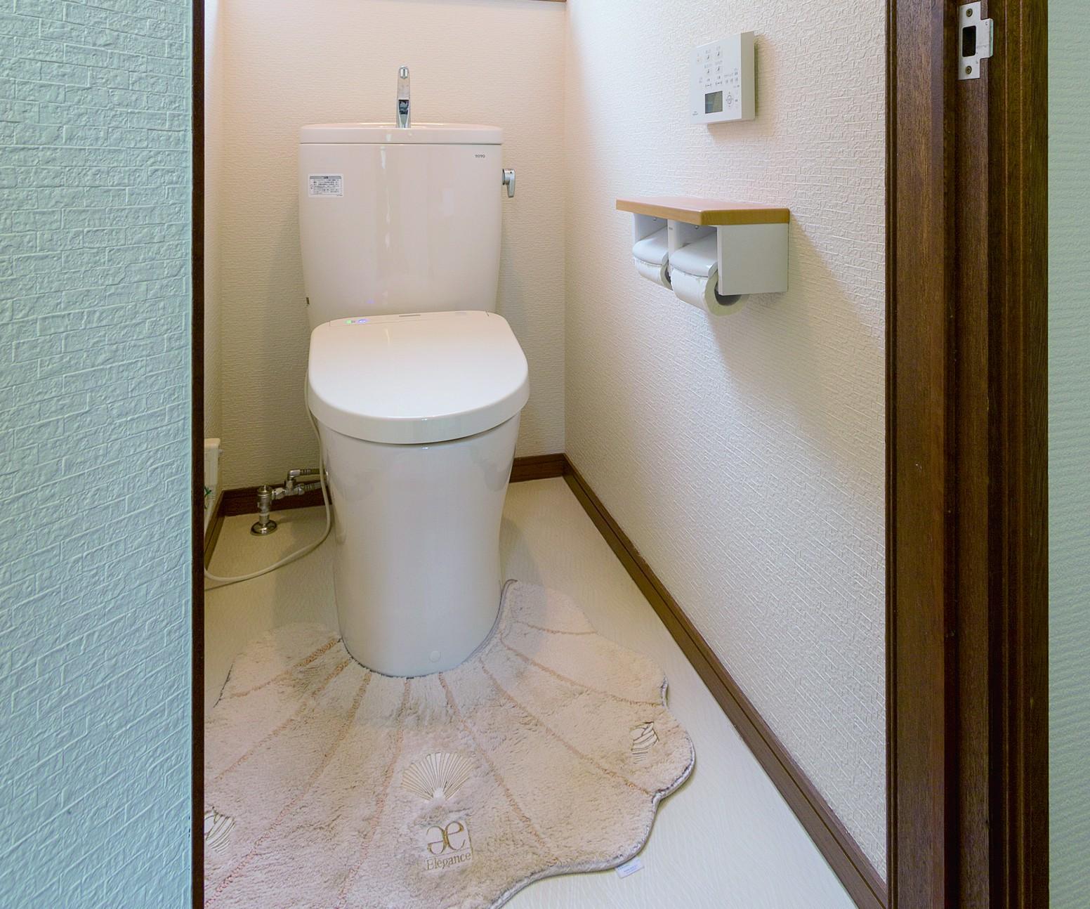 快適性能を高めたトイレ