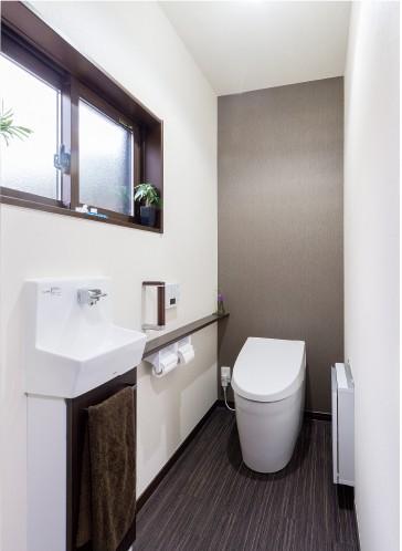 近い場所にトイレを新設