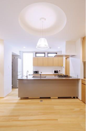 作業効率の良さで 選択した対面キッチン