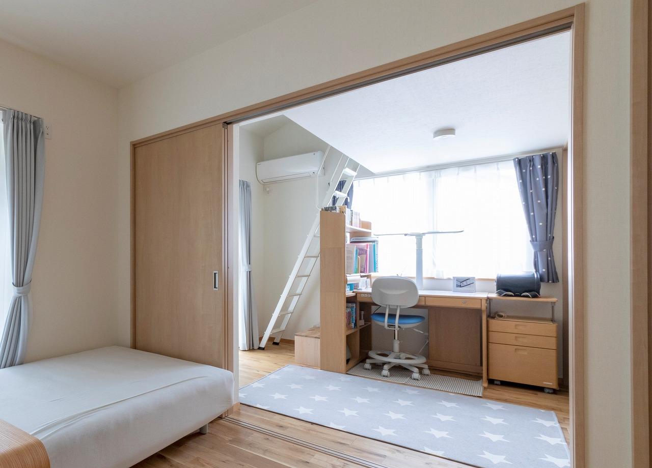広島市|ロフトつきの子ども部屋