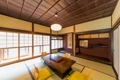呉市|古民家の風情を残す快適な和室