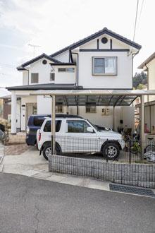 東広島市|真っ白で美しい耐久性の高い漆喰の外壁