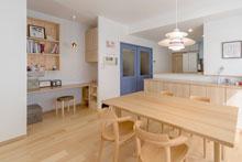 【広島市】デッドスペースを奥さま専用の家事&趣味のコーナーに