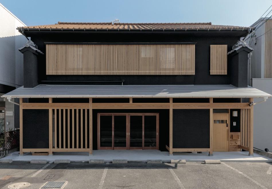 広島市|和風建築に和モダンの要素をプラスした店舗併用住宅