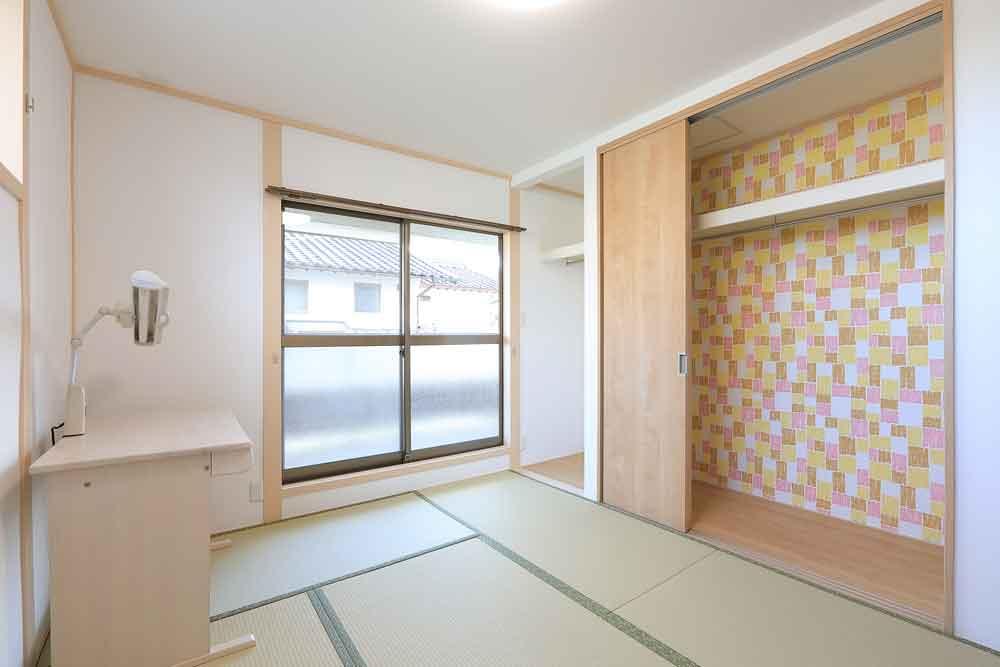廿日市市|和室の子供部屋を新しく可愛く