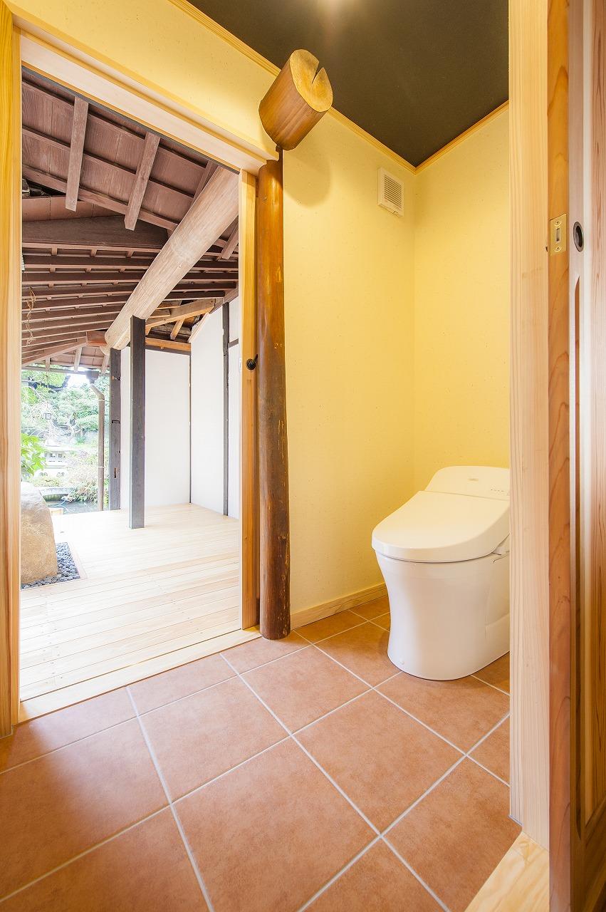 機能性とデザイン性を兼ね備えたトイレ空間