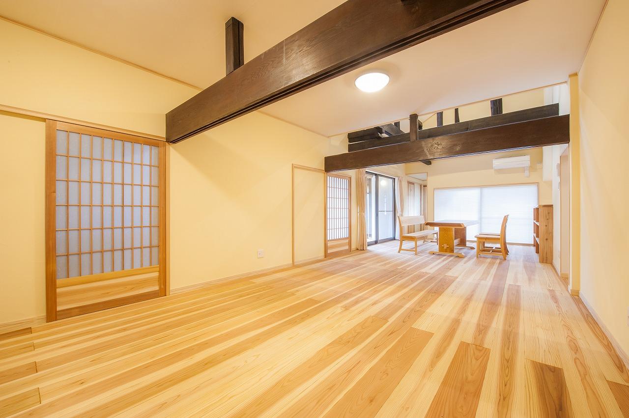築100年の古民家を自然素材の住宅にリフォーム