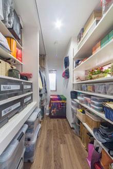 【広島市】置く物から設計したジャストサイズな収納スペース